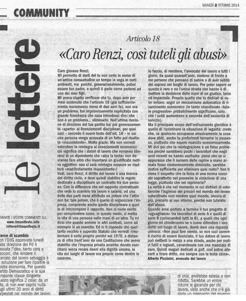 Lettera-a-Renzi