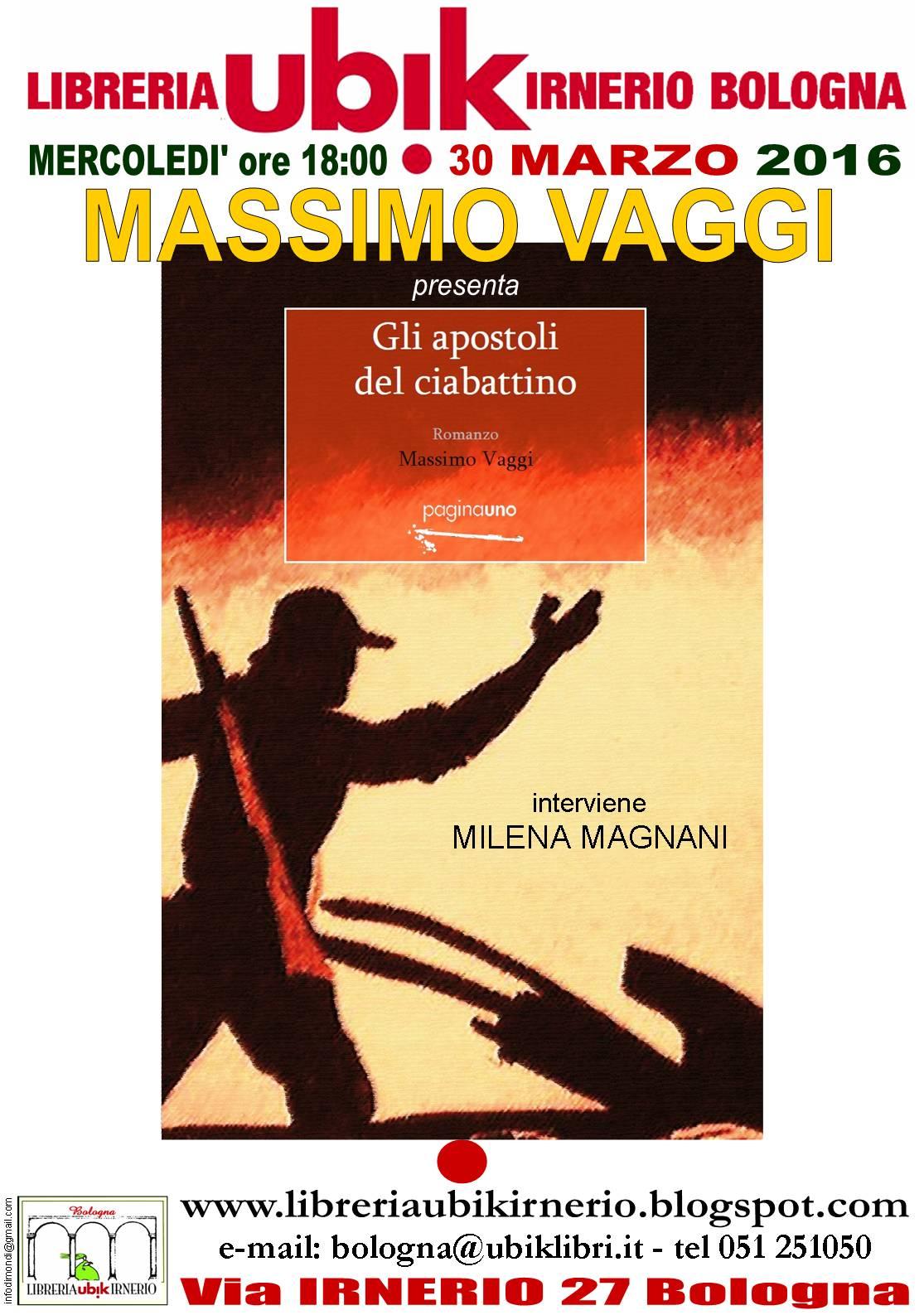 "MASSIMO VAGGI  presenta ""Gli apostoli del ciabattino"""